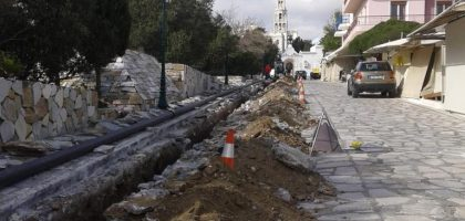 Replacement of the Internal City Water Network of Tinos